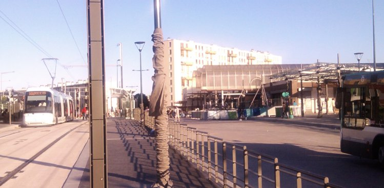 Garges-Sarcelles RER: travaux pas finis