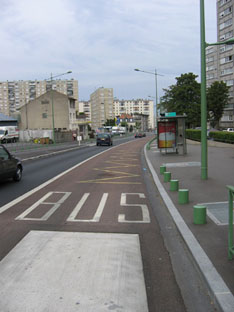 Vitry, avenue Henri Barbusse