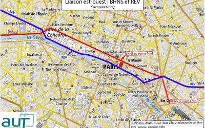 Projet de « tram-bus » pour la traversée est-ouest de Paris : le tracé par les quais n'est pas une bonne solution