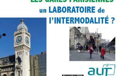 Etude sur l'intermodalité des grandes gares parisiennes