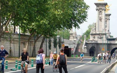 Non au retour des voitures sur les berges de la Seine à Paris. Oui au renforcement accéléré du réseau de bus.