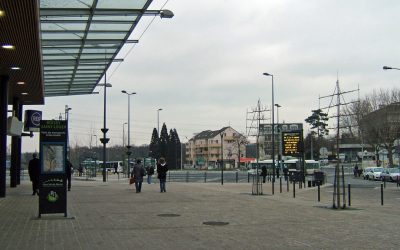 Boissy-Saint-Léger :  le pôle d'échanges amélioré