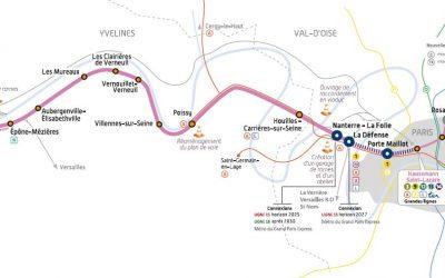 Prolongement du RER E à l'Ouest, adaptations nécessaires à l'Est :  Il faut enfin débloquer les crédits nécessaires !