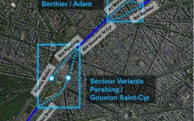 Avis sur le prolongement du T3b à Porte Maillot / Dauphine