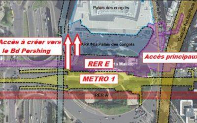 Aménagement de la porte Maillot : des enjeux importants pour les transports