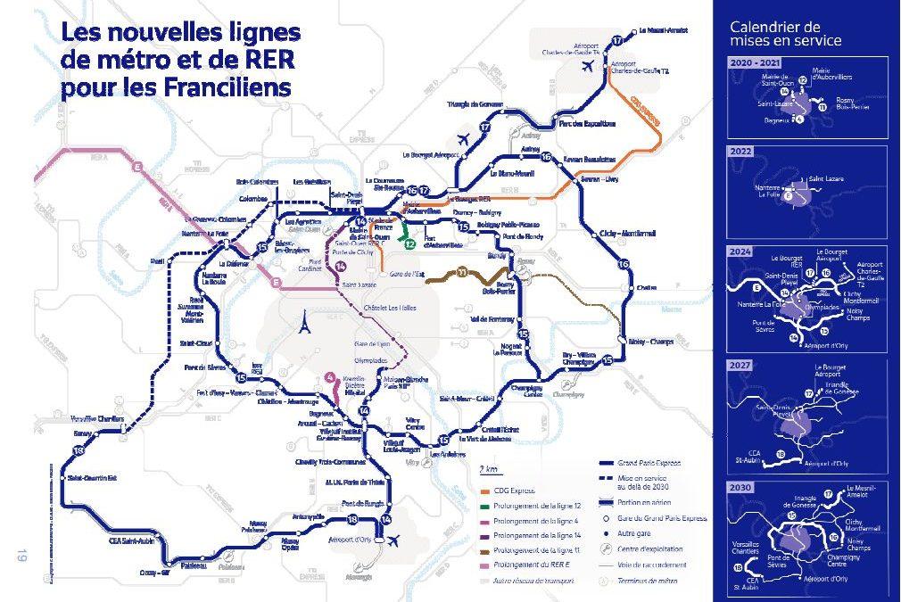 Arbitrages du gouvernement sur le Grand Paris Express :  des retards prévisibles, du flou et des priorités discutables