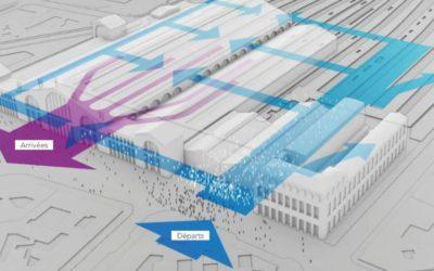 Aménagement de la gare du Nord : rappel de notre avis, globalement défavorable