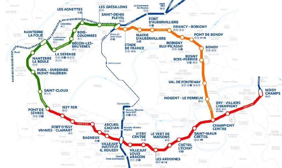 Grand Paris Express : pour une ligne 15 en totalité et sans coupure ! - Association des Usagers des Transports