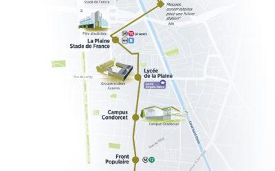 Avis sur le prolongement du tramway T8 à Paris
