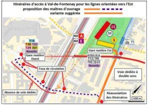 Gare de Val-de-Fontenay : un réaménagement indispensable mais un projet à améliorer